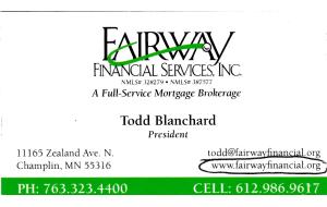 Todd Blanchard'14