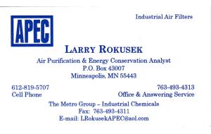 Larry Rokusek'14