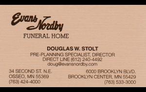 Doug Stolt '14