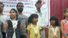 Yoga Competition held at Amritsar on May 3, 219 and school got overall Second Position  in punjab