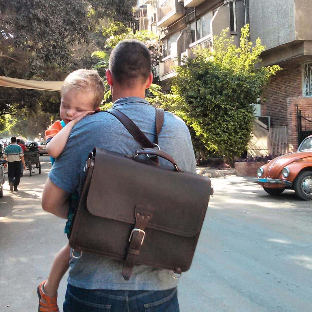 Dec 2016 Photo Contest - Best Photo With Child and Leather - C.B. Wolfe