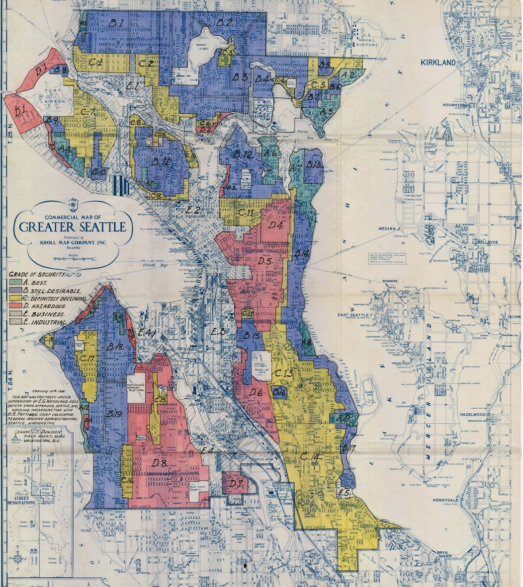 Seattles single family neighborhoods have roots in segregation