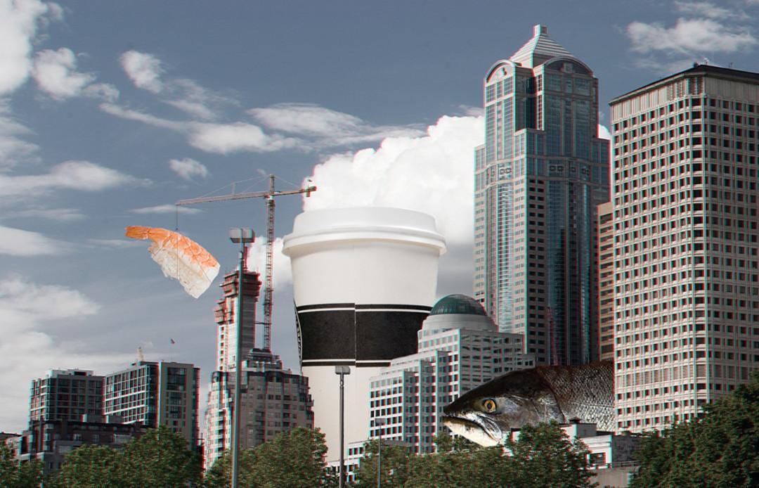 Embrayage Déclaration - Embrayage Horizon De Seattle Par Vida Vida UX6ZvClp