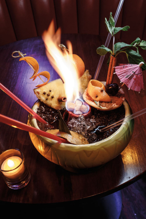 Ring of Rum..and Fire! Brave Hale Pele's Volcano Bowl