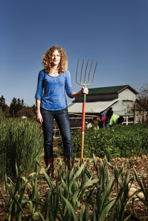 Jill Kuehler, Zenger Farm's executive director