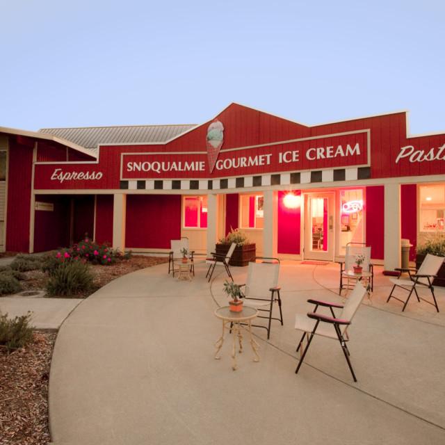 Snoqualmie ice cream cafe evobkb