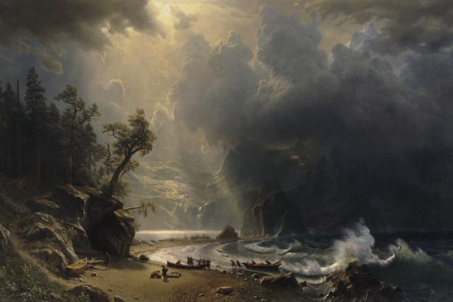 Bierstadt puget sound iaynmn
