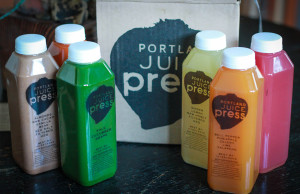 Seasonal juices by Portland Juice Press.