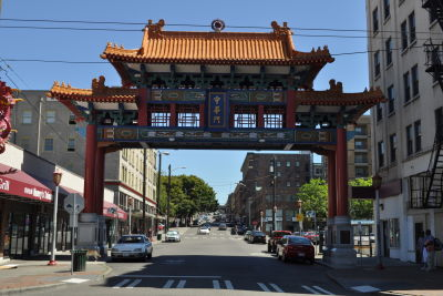 Seattle   chinatown gate 11 uvs1wq