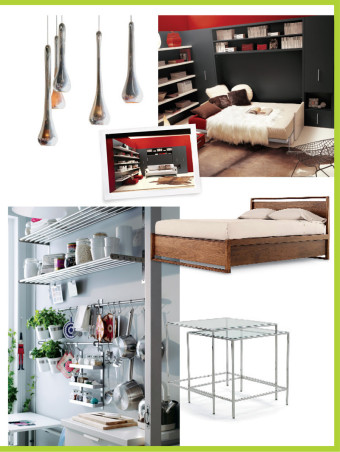 Home furnishing for small spaces