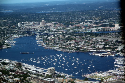 Aerial lake union july 4 2011 htngai
