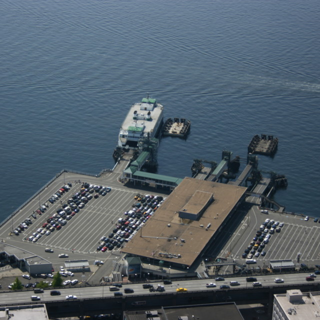 Colman dock  pier 52  from columbia center vvlfid