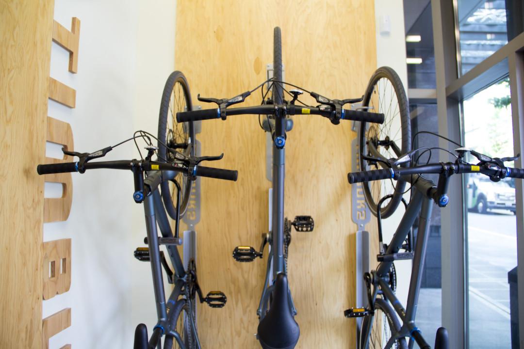 Free Bikes At Timbuk2 But You Can T Keep Em Seattle Met