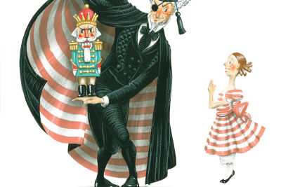 1. drosselmeier  clara and nutcracker sketch by ian falconer akwzow