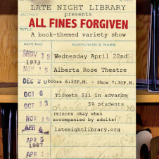 Thumbnail for - Late Night Library: All Fines Forgiven
