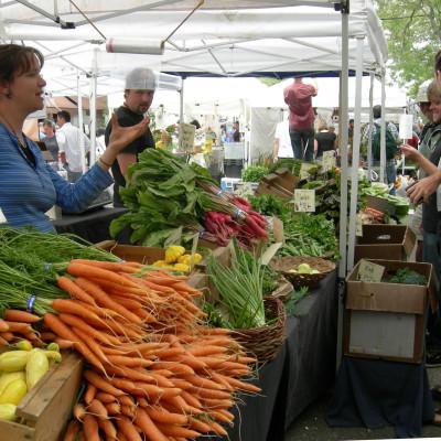 Ballard farmers  market   vegetables dct8ib