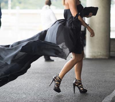 Dress flowing niq2rt