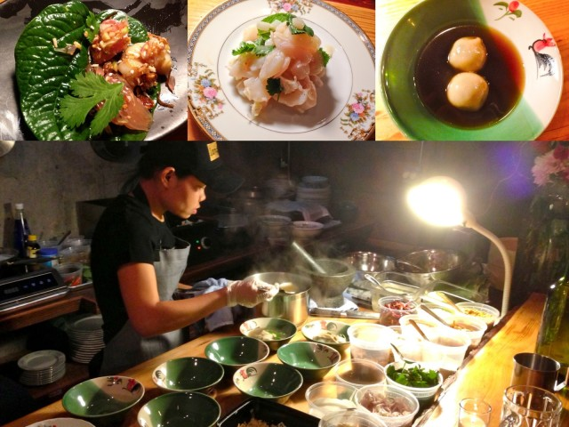 Rassamee Ruaysuntia dishes up dinner at Lang Baan