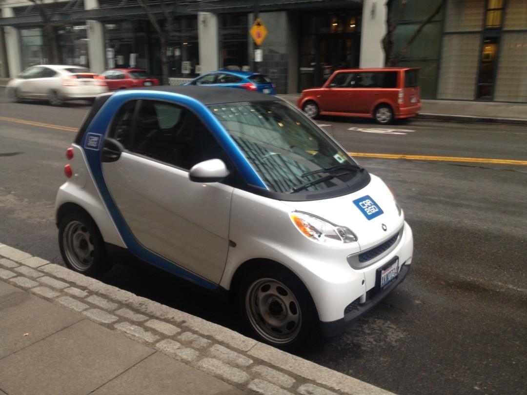 Unlike its biggest competitor Avis owned carsharing behemoth