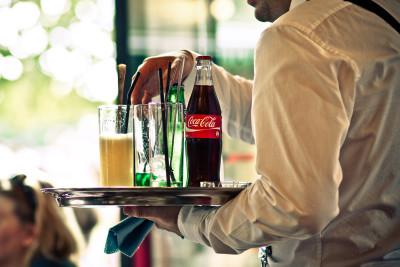 Waiter in a restaurant  paris 2011 1 walbew