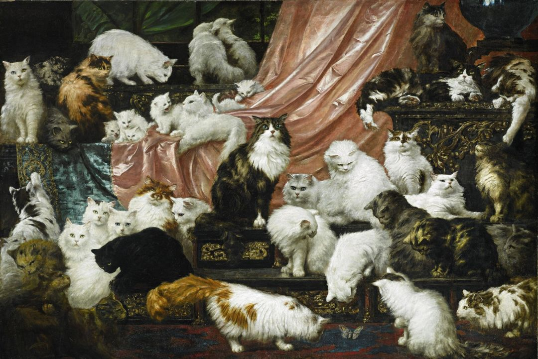 the world s greatest cat painting is coming to the portland art