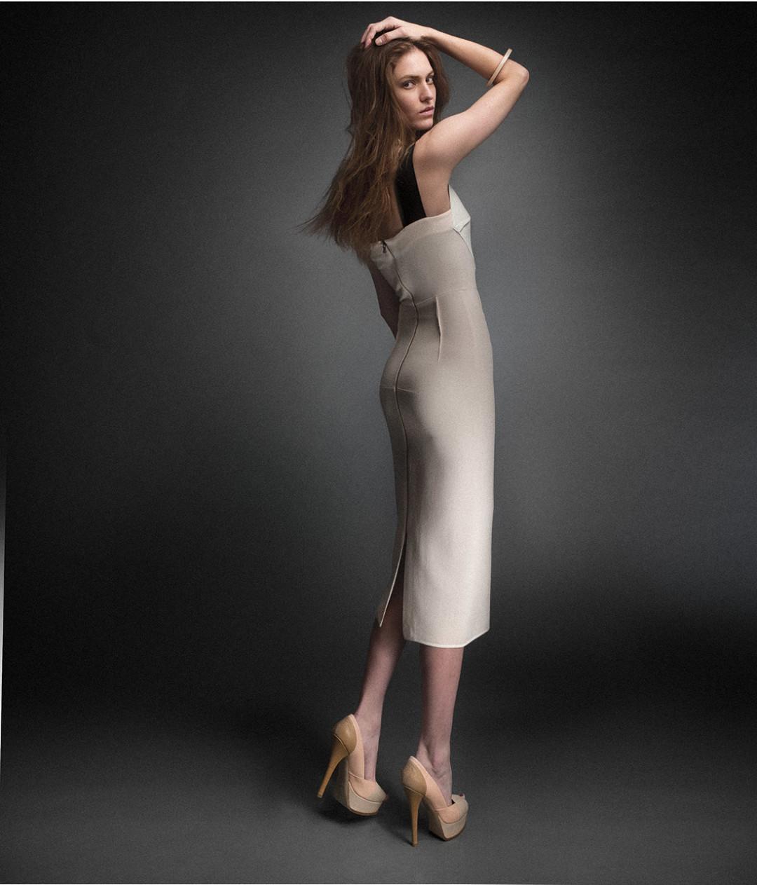 0213 beige black t sheer dress vjhenl