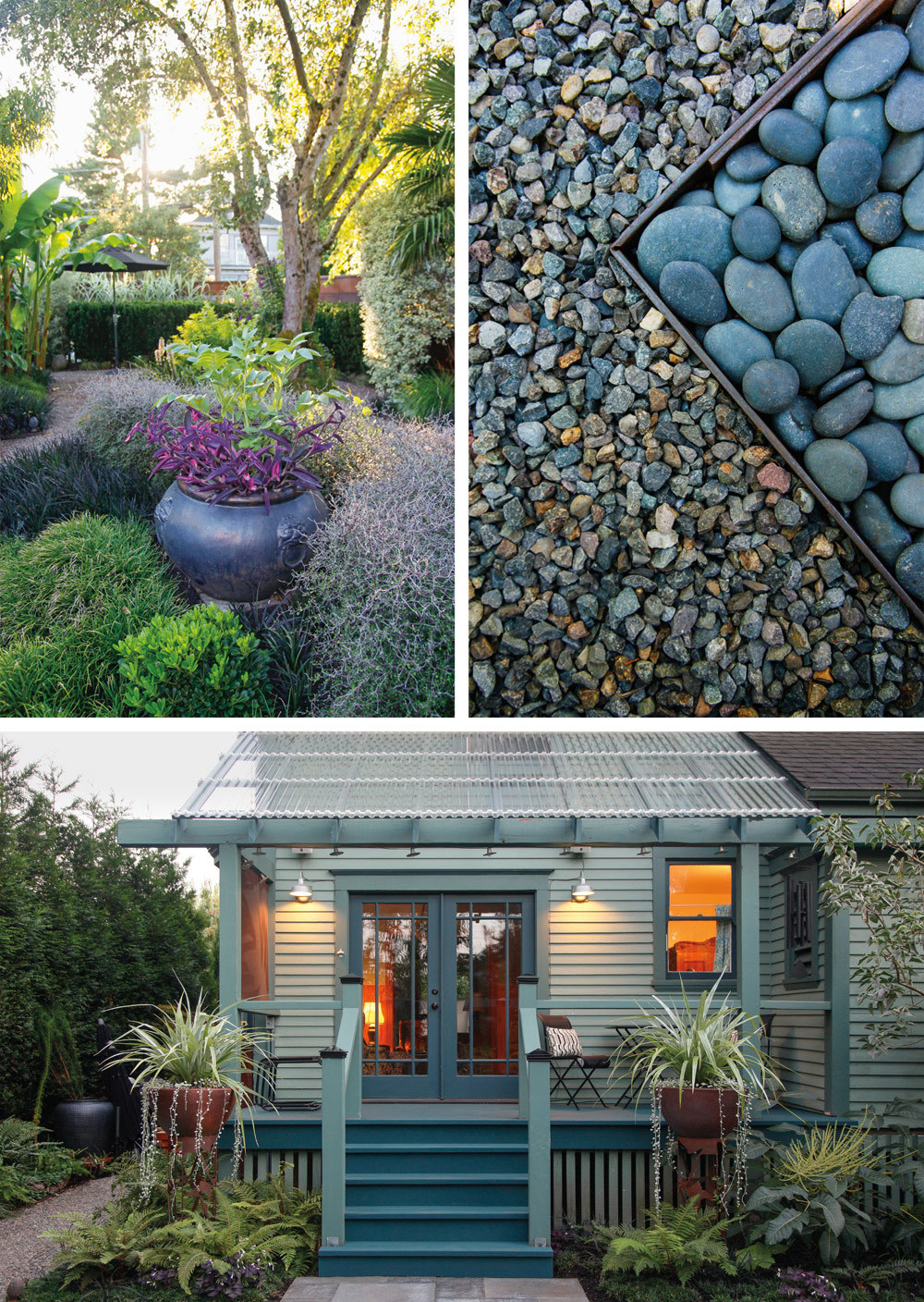 A Dazzling Portland Garden with Tropical Flair | Portland Monthly