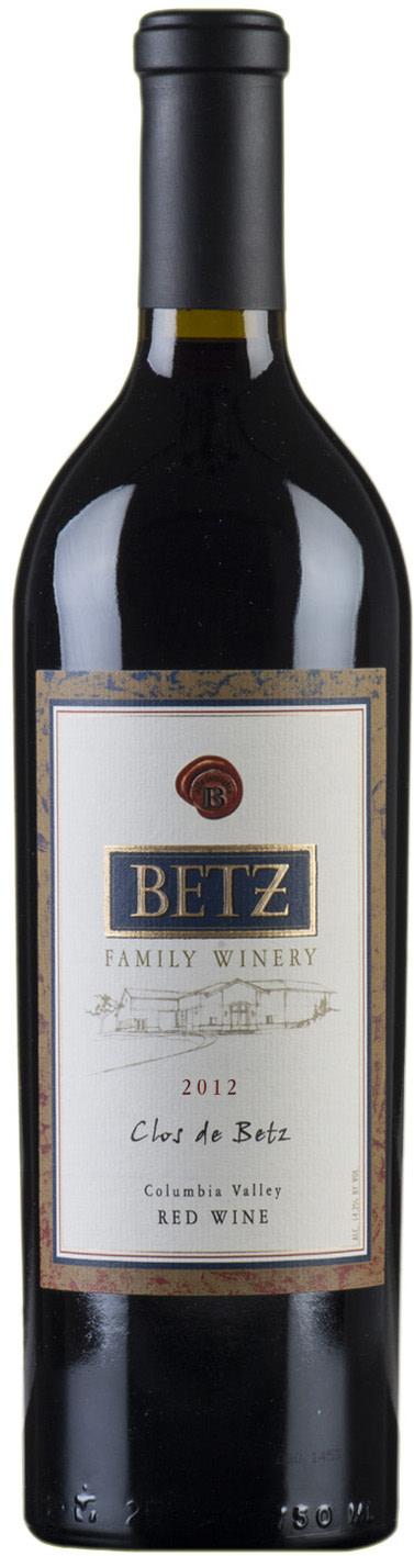 2012 clos de betz bottle bgysdg