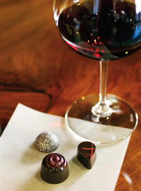 Tamami Chocolates and Anthony Dell Cellars