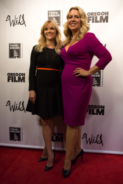 Reese Witherspoon with Cheryl Strayed