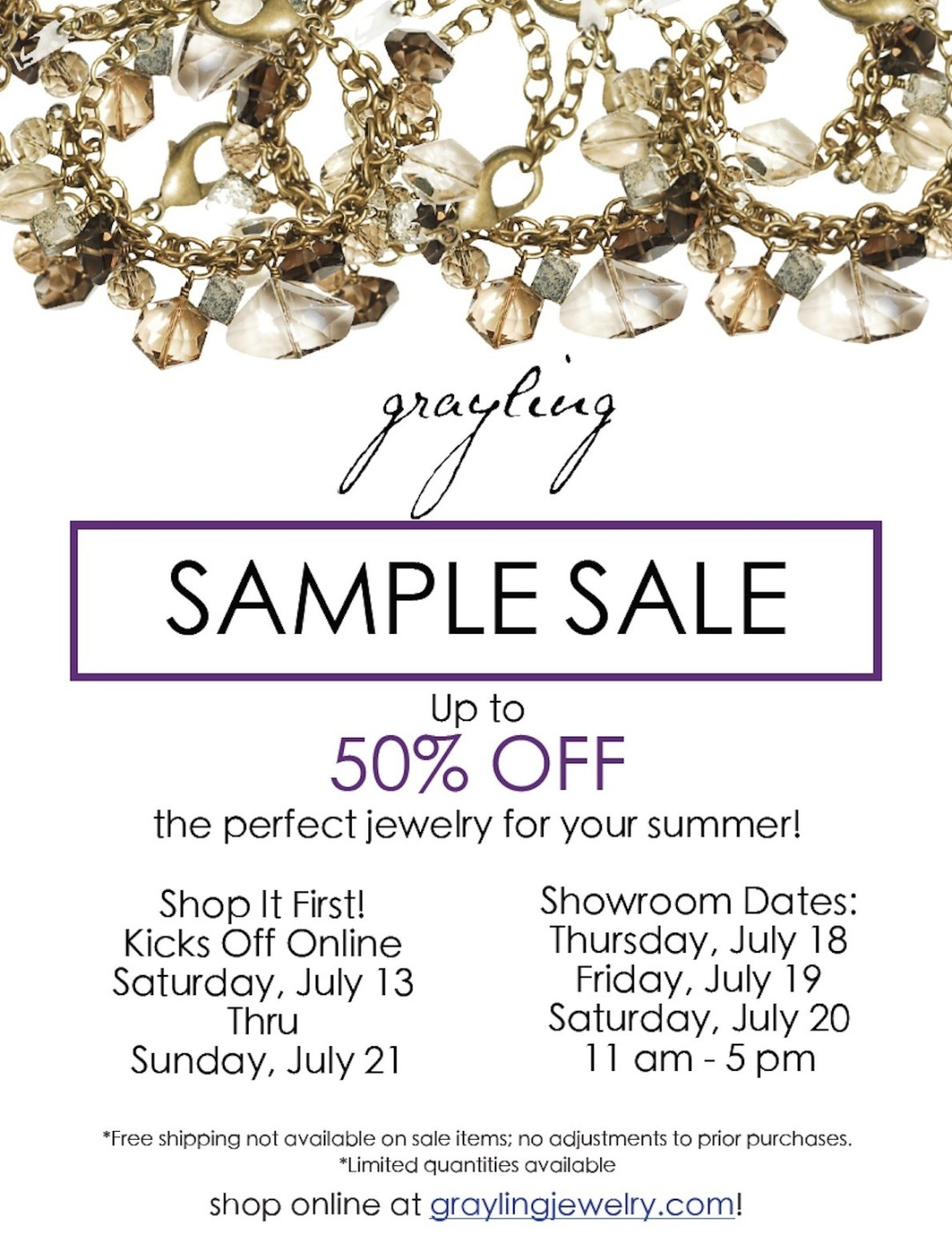 Grayling Jewelry's Sample Sale | Portland Monthly
