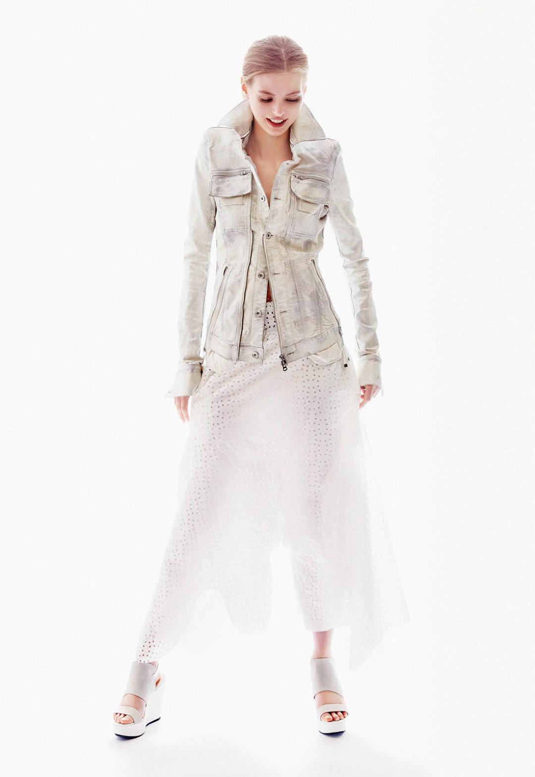 0514 solar flair jacket skirt aetyki