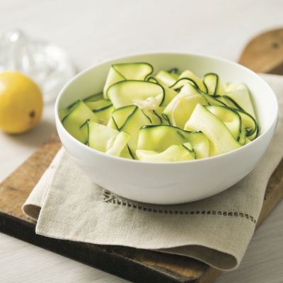Shaved zucchini salad stzl7x