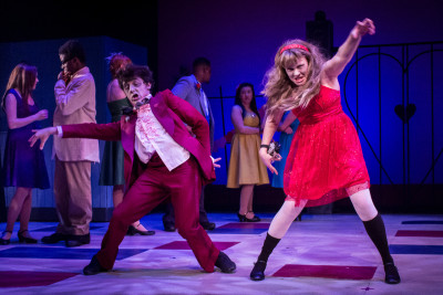 Blake Peeples in Oregon Childrens' Theatre's <i>Zombie in Love</i>