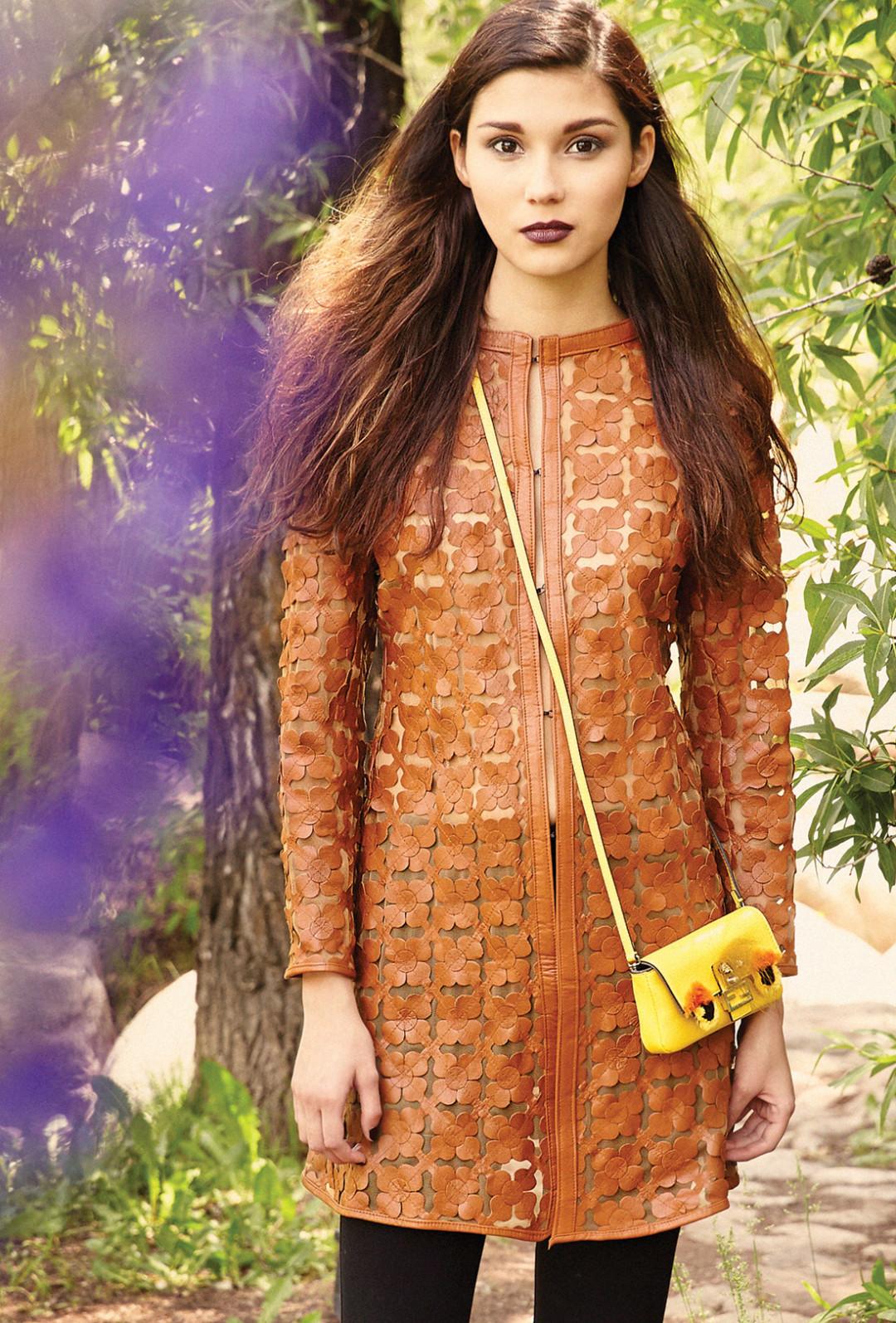 0715 garden glow brown dress tn0dmi