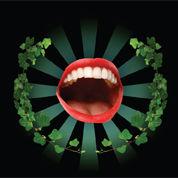 Mouth leaves z3cvxj
