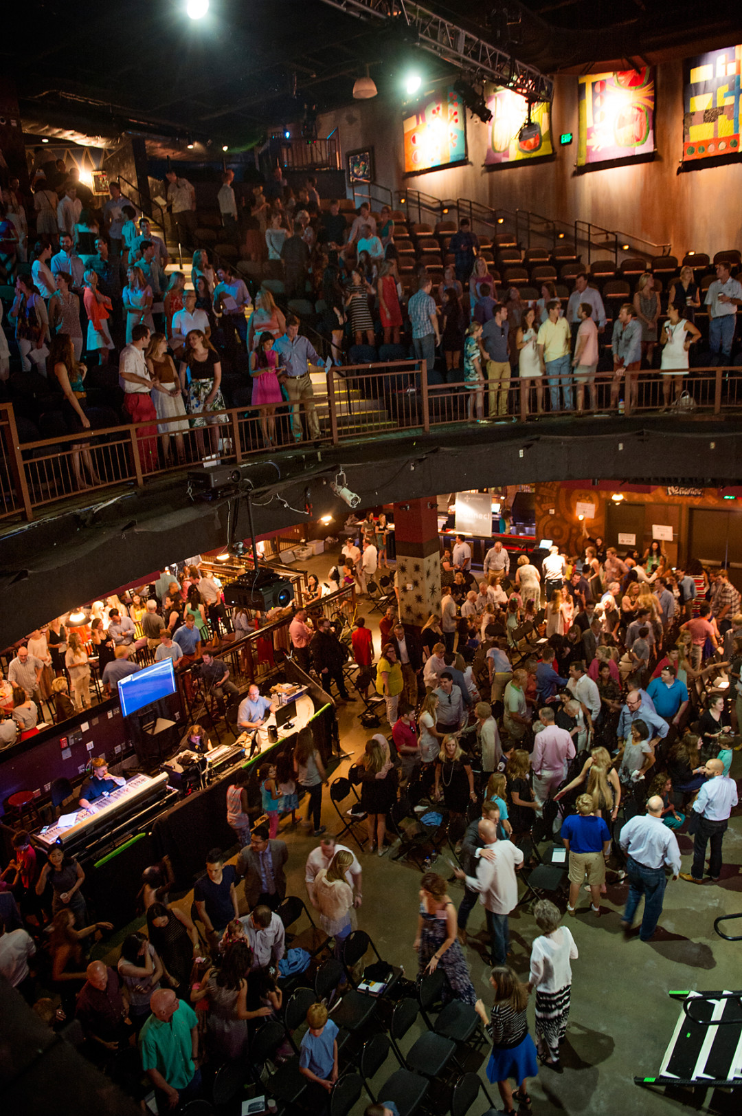 in a storied downtown concert hall, a new church takes root