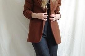 Rust blazer vaepbk