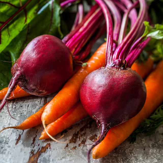 Beets and carrots mjmoey