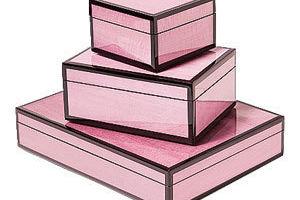 Brown lacquer boxes 300 ktxufs