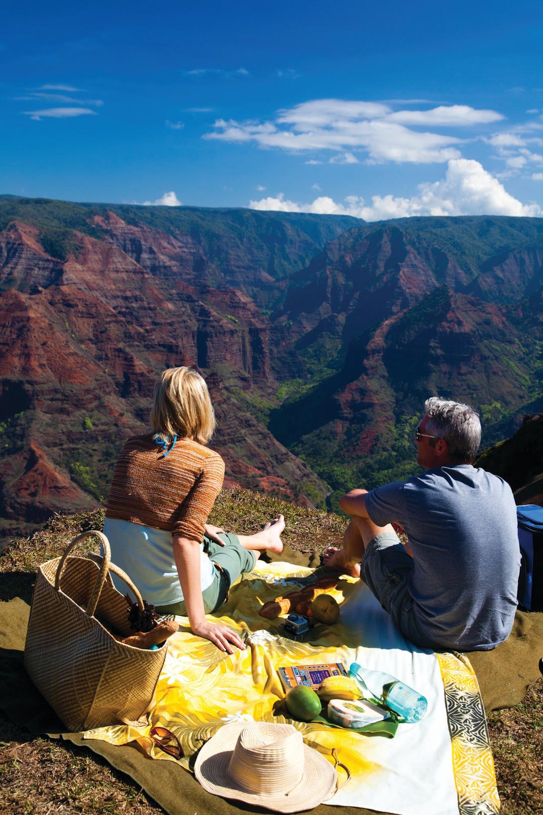 Waimea canyon picnic jp3inw