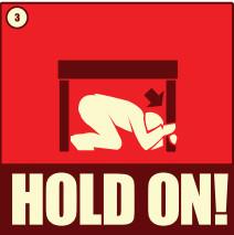 Drop  cover and hold on   slideshow uxgqbb