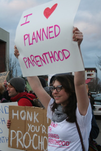 Planned parenthood supporters ruzoms