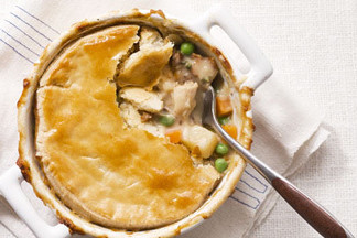 Mare chicken pot pies with chanterelles h wabkdm