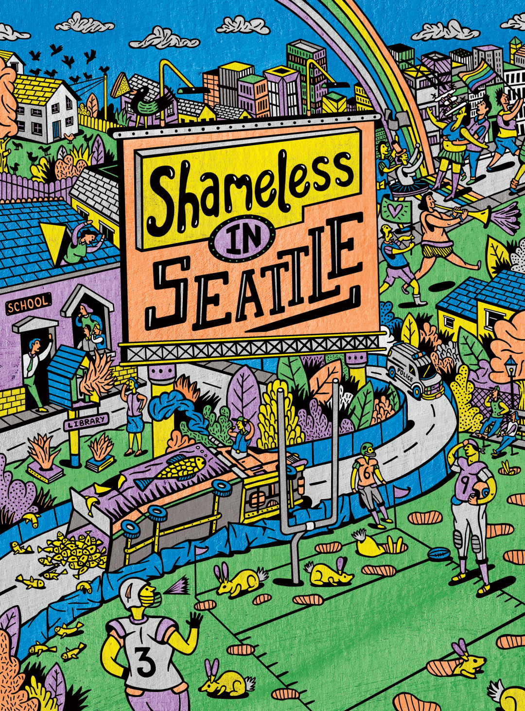 Shameless in seatlle artwork ql6opm