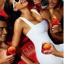 Campari photo shoot for calendar bref69