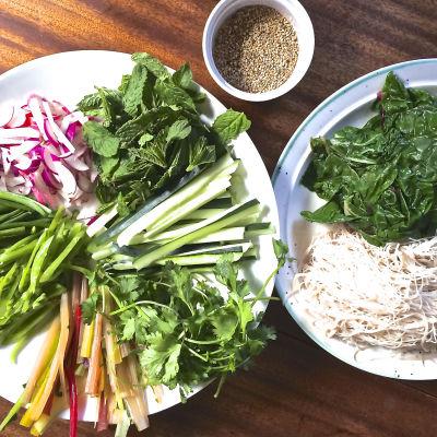 Salad roll utf2hp