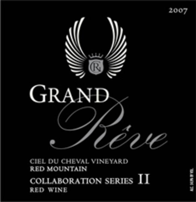 grand reve vintners series ii red wine ciel du cheval vineyard red mountain 45 - Best Red Wine