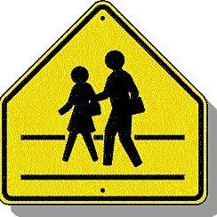 School zone sign a6caxp