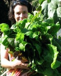 allison with chard